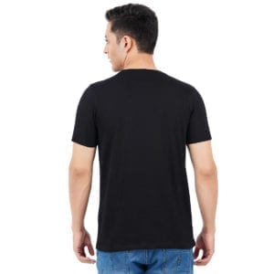 Graphic Mens Printed Round neck CEO Black T Shirt Back